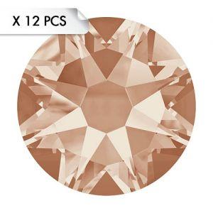 Strass SS30 Light Peach (12pcs)