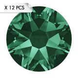 Strass SS30 Emerald (12pcs)