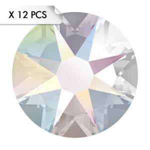 Strass SS30 Crystal AB (12pcs)