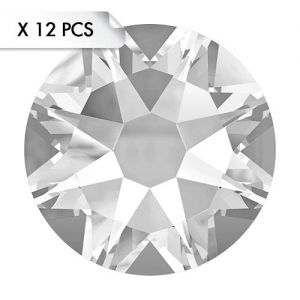 Strass SS30 Crystal (12pcs)