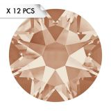 Strass SS34 Light Peach (12pcs)