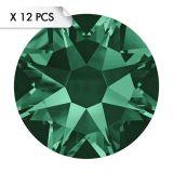 Strass SS34 Emerald (12pcs)