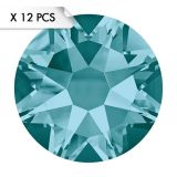 Strass SS34 Blue Zircon (12pcs)