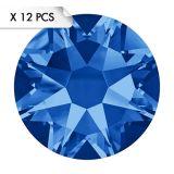 Strass SS34 Sapphire (12pcs)
