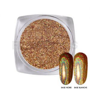 Chrome Powder Holo Gold 15