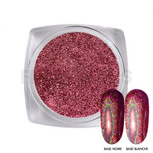 Chrome Powder Holo Pink 16