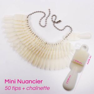 Mini Nuancier 50 tips Natural