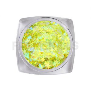 Glitter Circus Collection 11 Yellow Fluo