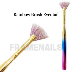 Rainbow Brush Eventail