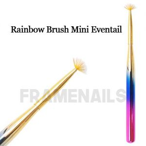 Rainbow Brush Mini Eventail
