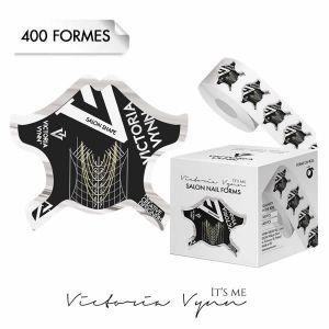 Salon Nail Forms Black VICTORIA VYNN (x400)