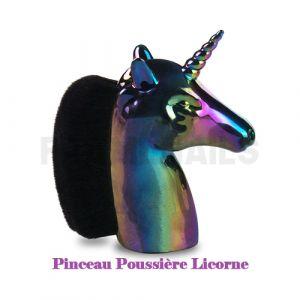 Pinceau Poussière Licorne Rainbow Black