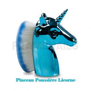 Pinceau Poussière Licorne Turquoise