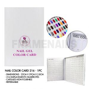 Nail Color Card 216