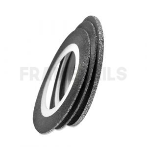 Stripping Tapes Glitter Black 0.5mm