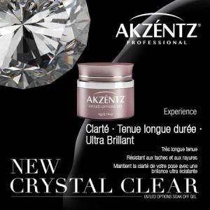 Gel Options Crystal Clear  AKZENTZ 4g