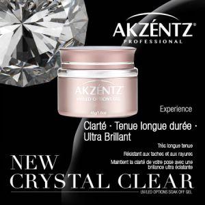 Gel Options Crystal Clear AKZENTZ 45g