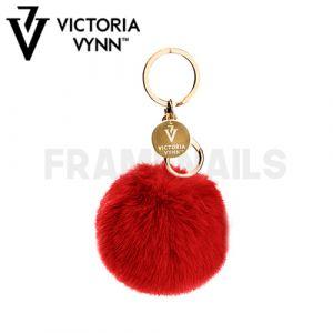 Porte-clés Pompon Red VICTORIA VYNN