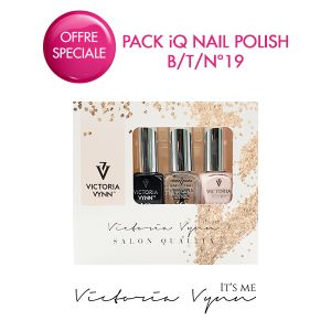 Pack iQ Nail Polish B/T/N°19