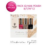 Pack iQ Nail Polish B/T/N°12