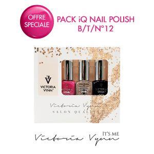 Pack iQ Nail Polish B/T/N°12
