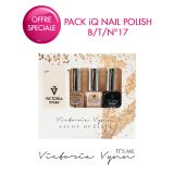 Pack iQ Nail Polish B/T/N°17