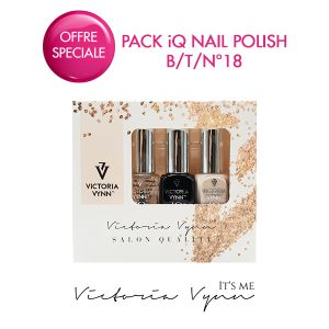 Pack iQ Nail Polish B/T/N°18