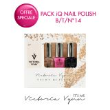 Pack iQ Nail Polish B/T/N°14