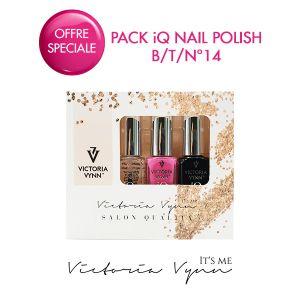 Pack iQ Nail Polish B/T/N°14
