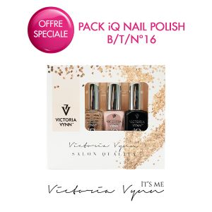 Pack iQ Nail Polish B/T/N°16