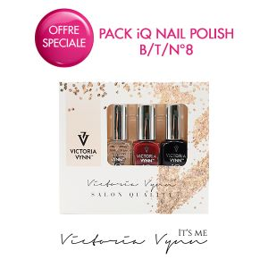 Pack iQ Nail Polish B/T/N°8