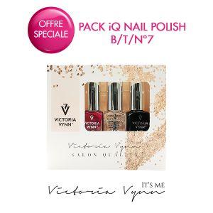 Pack iQ Nail Polish B/T/N°7
