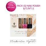 Pack iQ Nail Polish B/T/N°15