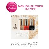 Pack iQ Nail Polish B/T/N°9