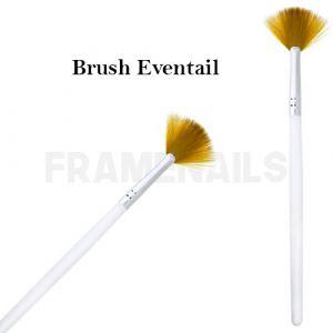 Brush Eventail White