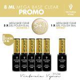 Pack Mega Base Clear 8ml 5+1 gratuit
