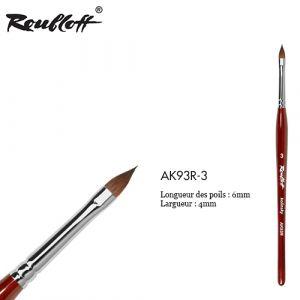 Roubloff Kolinsky 3D Petal AK93R-3