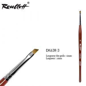 Roubloff Kolinsky Angular DK63R-3
