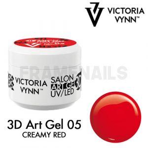 3D Art Gel 05 Creamy Red