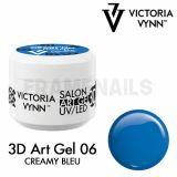 3D ART GEL UV/LED 06 CREAMY BLUE