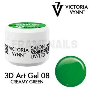 3D Art Gel 08 Creamy Green