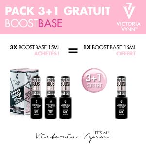 Pack Boost Base 15ml 3+1 offert