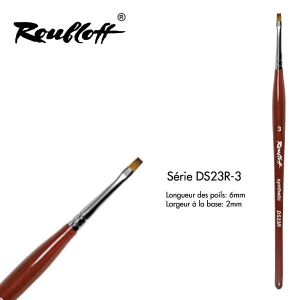 Roubloff Synthetic Flat DS23R-3