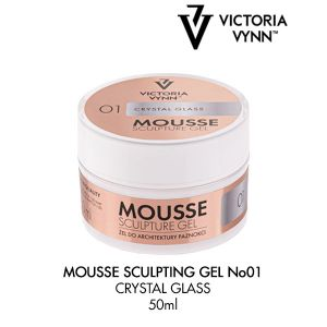 Mousse Sculpture Gel Crystal Glass 01 (50ml)