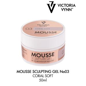 Mousse Sculpture Gel Coral Soft 03 (50ml)
