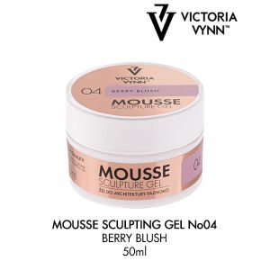 Mousse Sculpture Gel Berry Blush 04 (50ml)