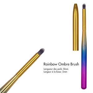 Rainbow Ombre Brush