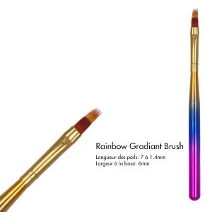 Rainbow Gradiant Brush