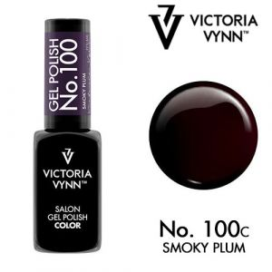 Gel Polish 100 Smoky Plum