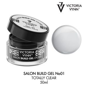 Build Gel Totally Clear 01  50ml